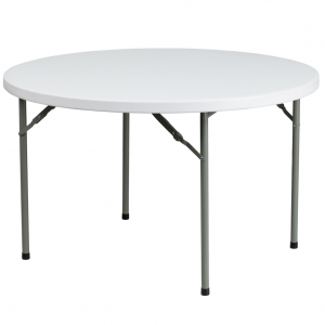 Patio foldaway round table 48''