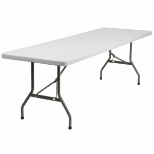 6 Foot Patio Foldaway Long Table