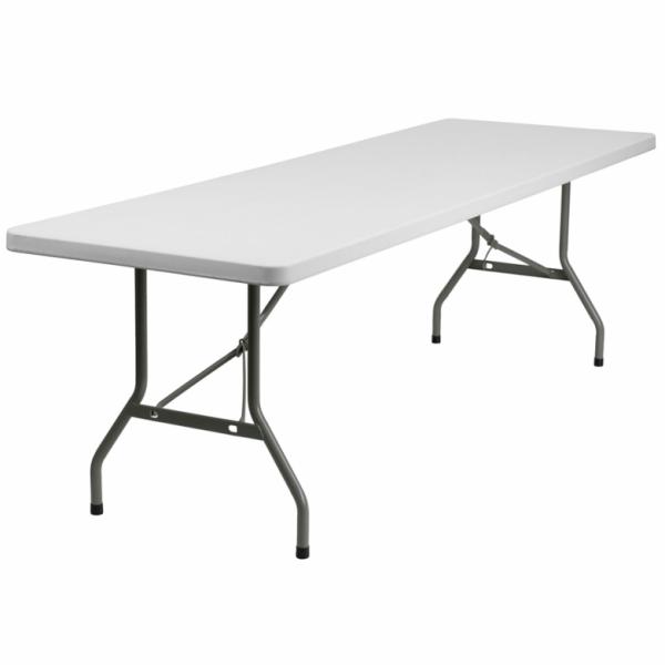 6 Foot Patio Foldaway Long Table