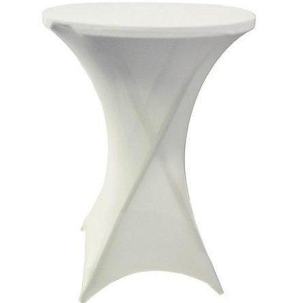Spandex Tablecloth for bar tables