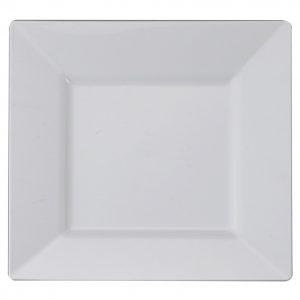 "Square China Plate 10"""