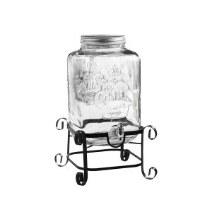 3 Gallon Drink Glass dispenser