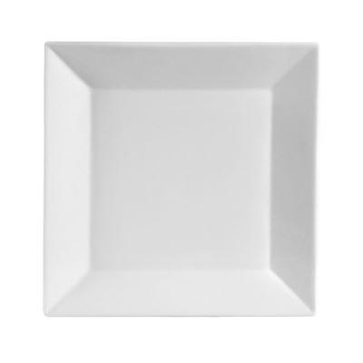 8'' White Square plate