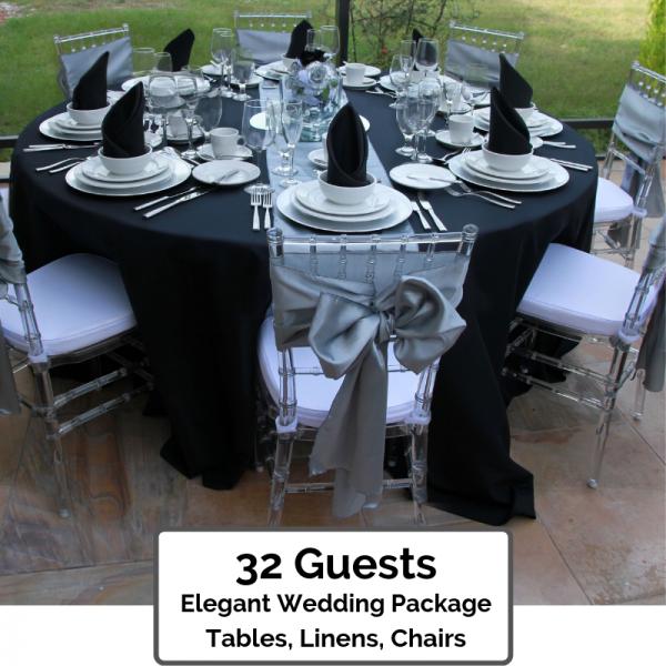 Elegant Wedding Packages 32 Guests