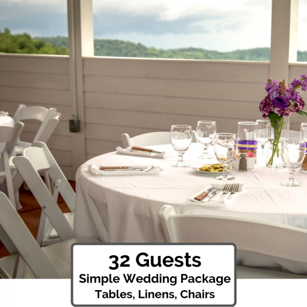Simple Wedding Packages Orlando 32 Guests
