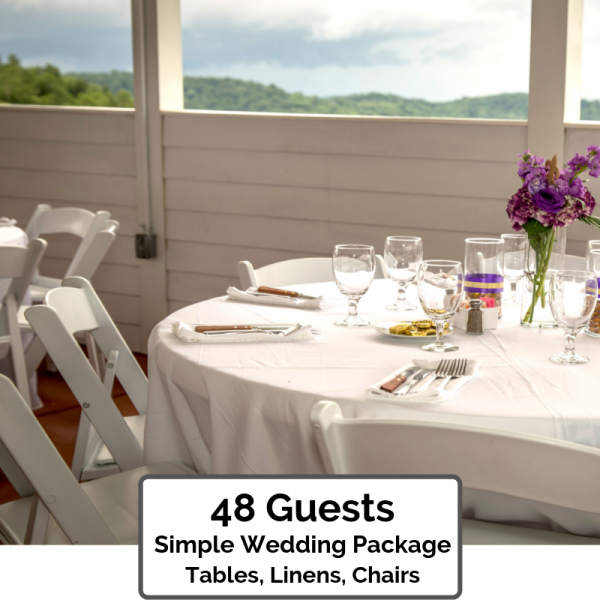 Simple Wedding Packages Orlando 48 Guests