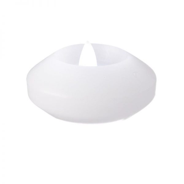 """3"""" Real wax flameless floating candles"""