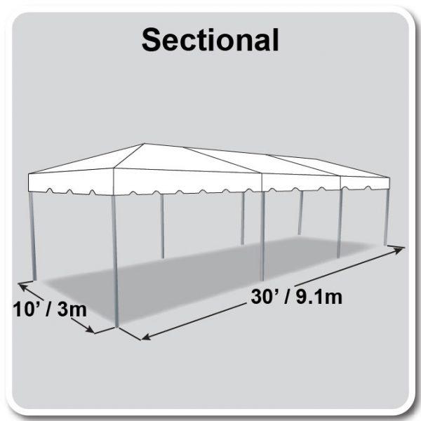 10x30 Tent diagram