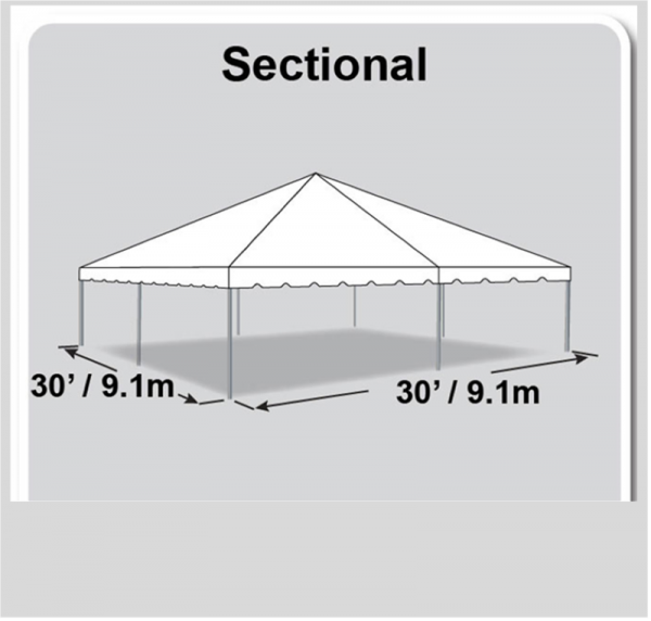30x30 Tent Diagram
