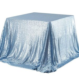 "60x60"" Sequin Square Table Cloth"
