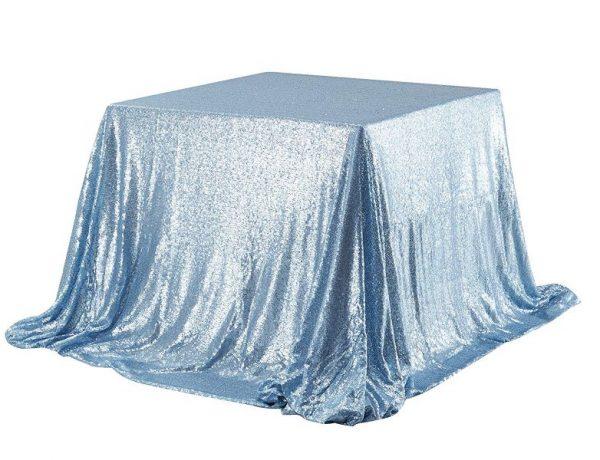 "60x60"" Sequin Square Table Cloth"