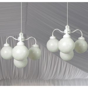 Tent Globe Chandelier for Rent